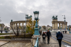 Hjältarnas torg i Budapest