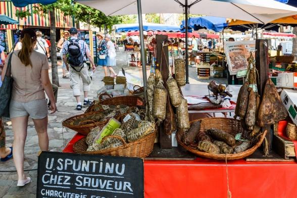 Marknad i Ajaccio