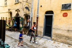 Utanför Napoleons födelsehus, Ajaccio
