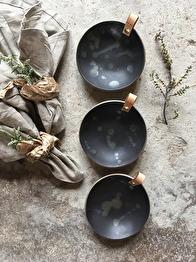 Skål Black bronze