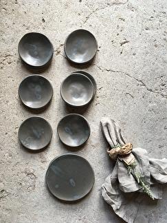 Liten skål Stone grey -