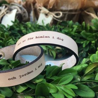 Par-armband läder - Dam/herr