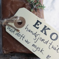 Handgjord ekologisk tvål Mysk