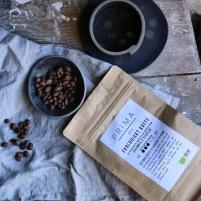 Kaffe färskrostat och ekologiskt