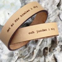 Par-armband Kärlek