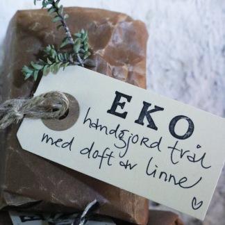 Handgjord ekologisk tvål Linne -