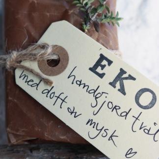 Handgjord ekologisk tvål Mysk -