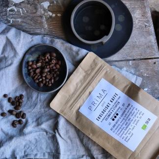Kaffe färskrostat och ekologiskt - Hela bönor
