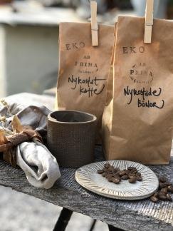 Gårdsrostat ekologiskt kaffe - Bönor