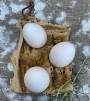 Keramikfat till 6 ägg