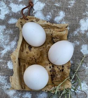 Keramikfat till 6 ägg -