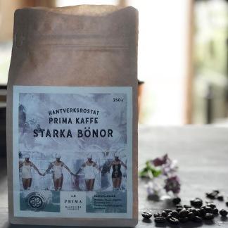 Kaffe Starka bönor - Nymalet