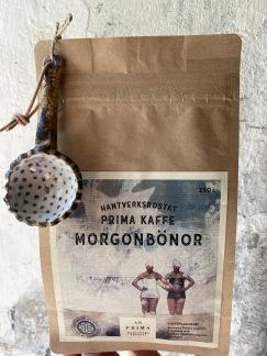 Kaffepåse med kaffemått - Morgonbönor - malda med kaffemått