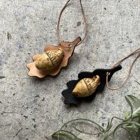 Ekollon keramik/läder Natur