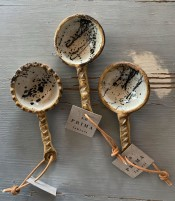 Kaffemått rustikt med stänk