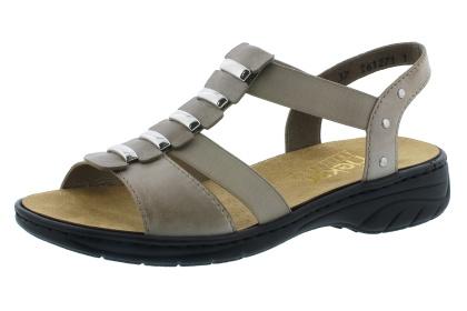 Rieker sandalett med löstagbar insula i skinn. Pris: 650:- Finns även i blå. Strl. 36 - 42