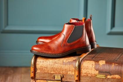 Boots, kängor och skor från Rieker i fina höstfärger