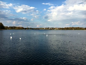 Bottengarn i Växjösjön