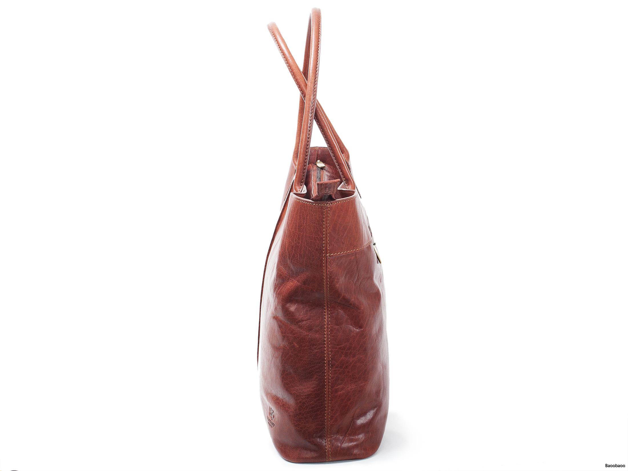Shopper Brandy Gusset