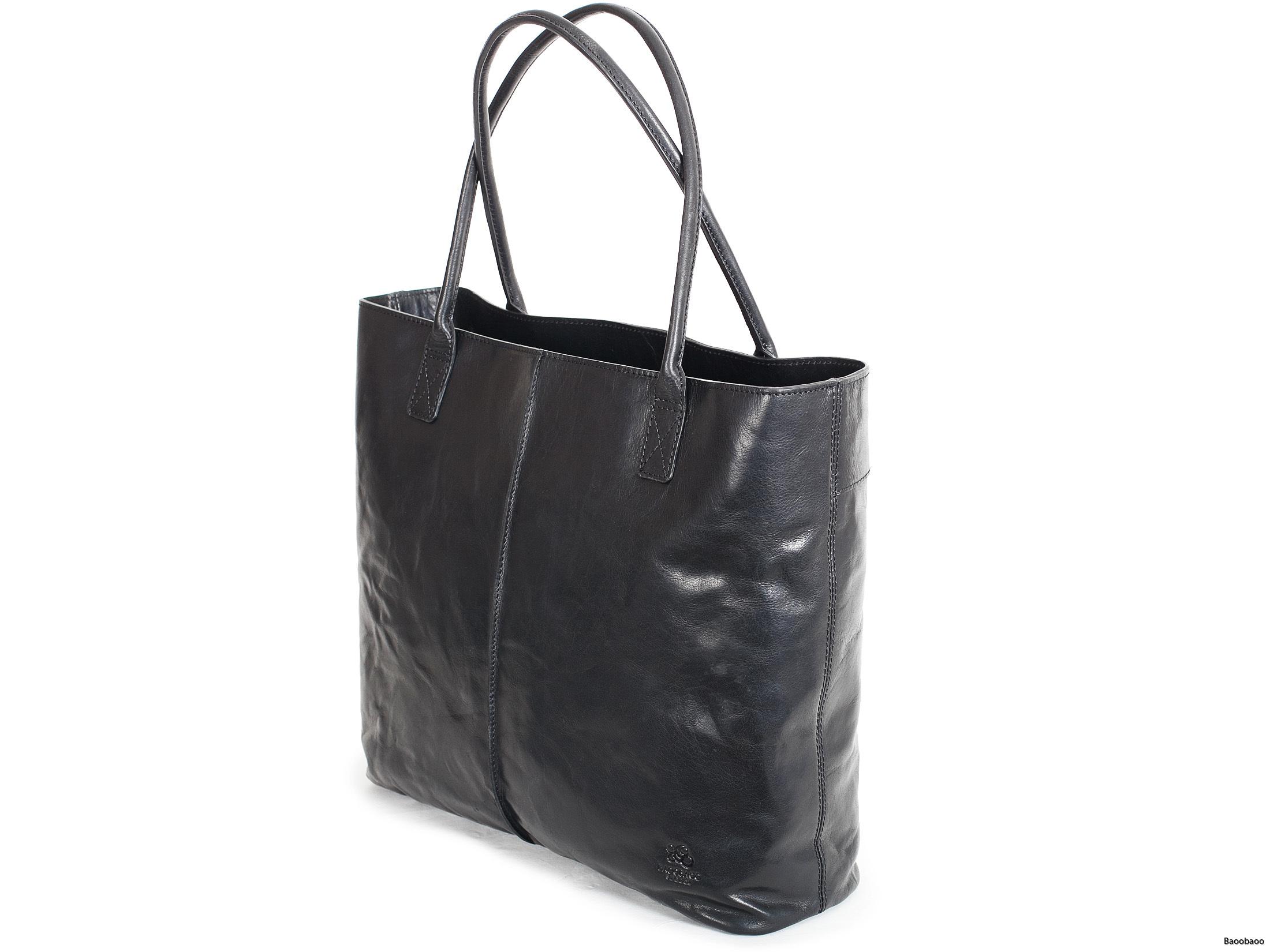 Shopper Black Front