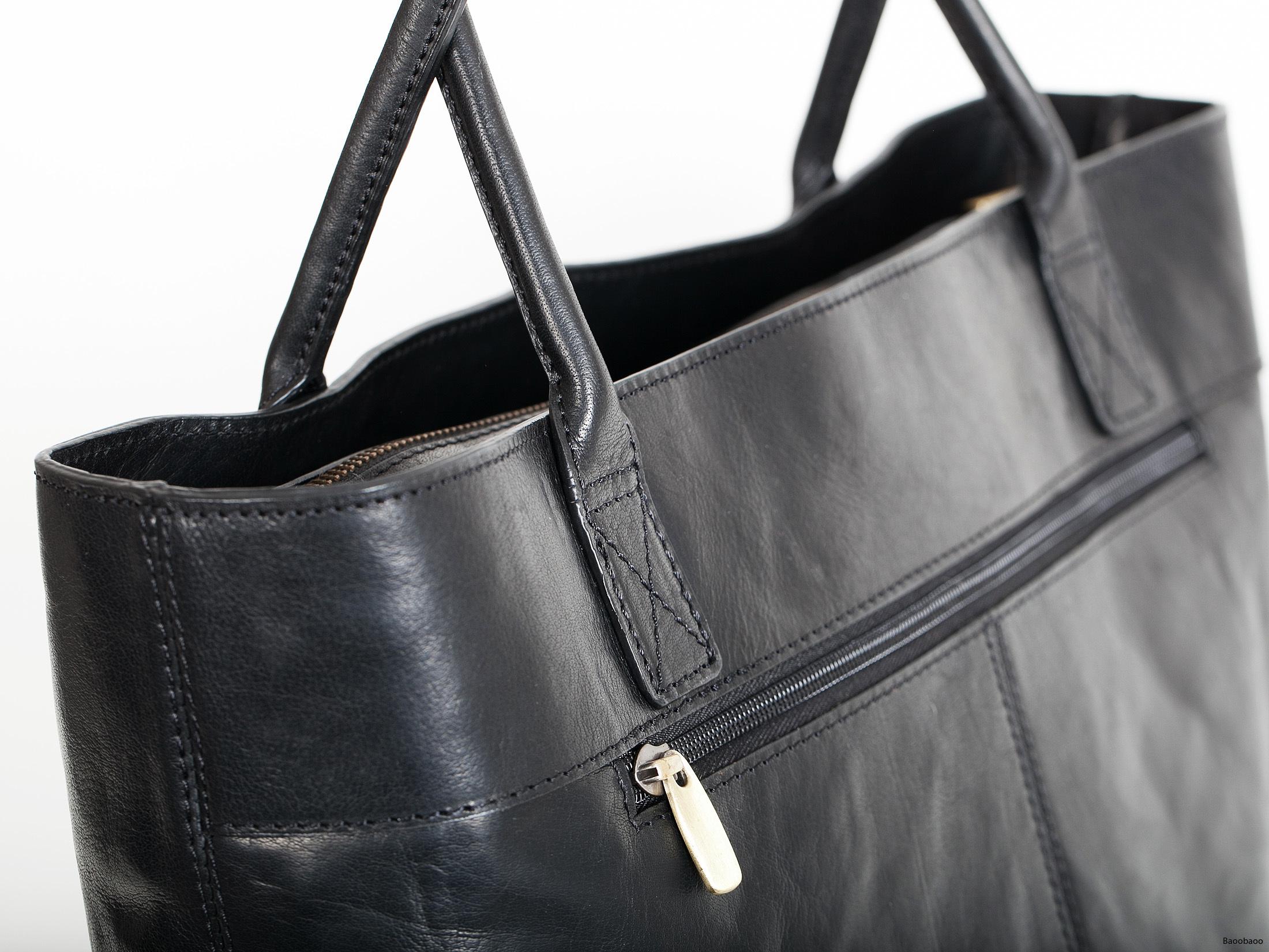 Shopper Black Closeup