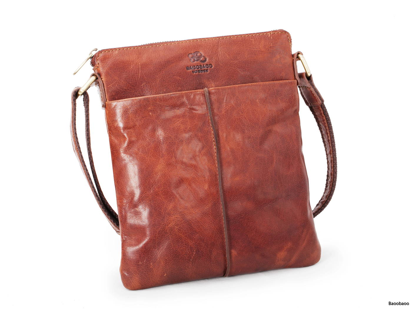 Shoulderbag Small Brandy Front