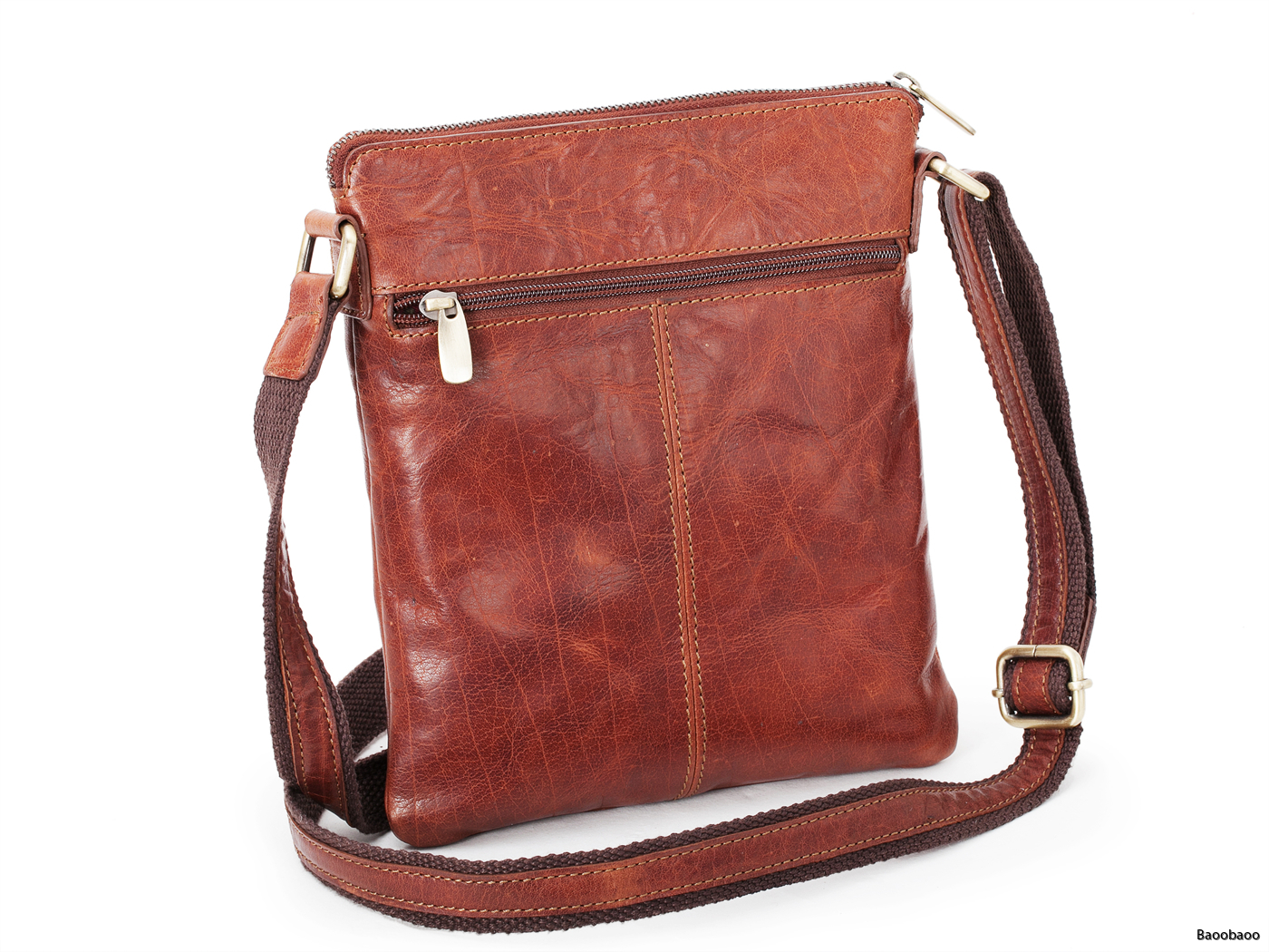 Shoulderbag Small Brandy Back