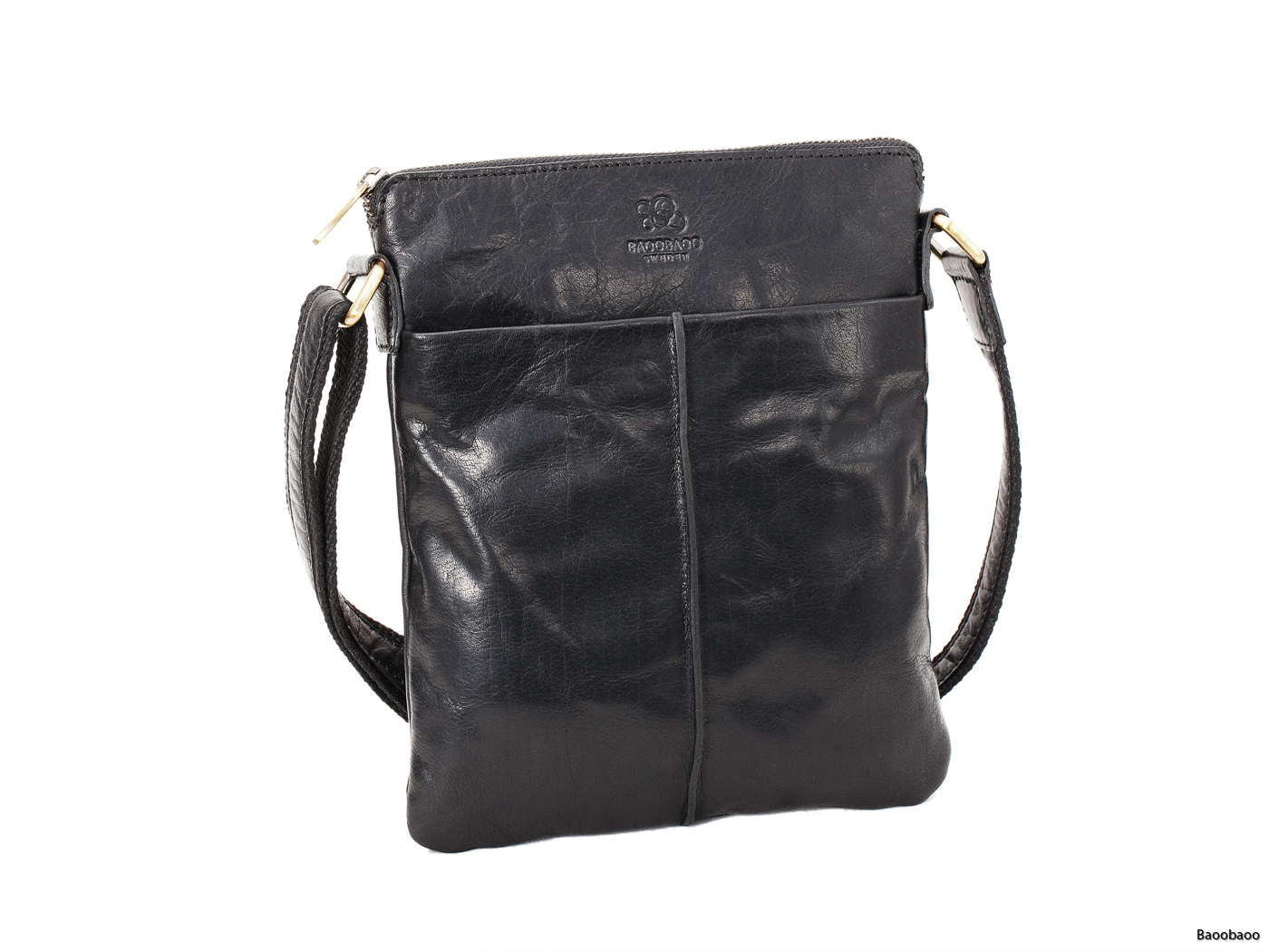 Shoulderbag Small Black Front