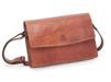 Baoobaoo Flap Handbag. - Brandy