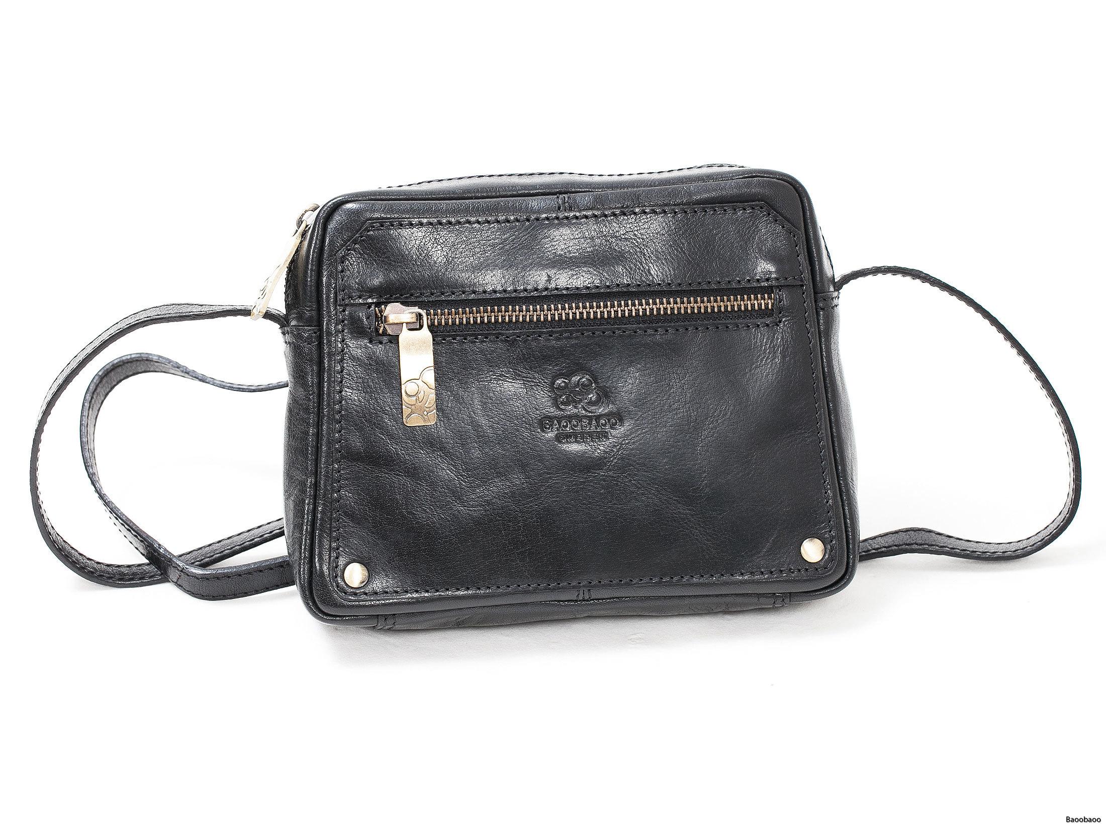 Shoulderbag Mini Black Front