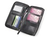 Baoobaoo Travel Wallet. - Black