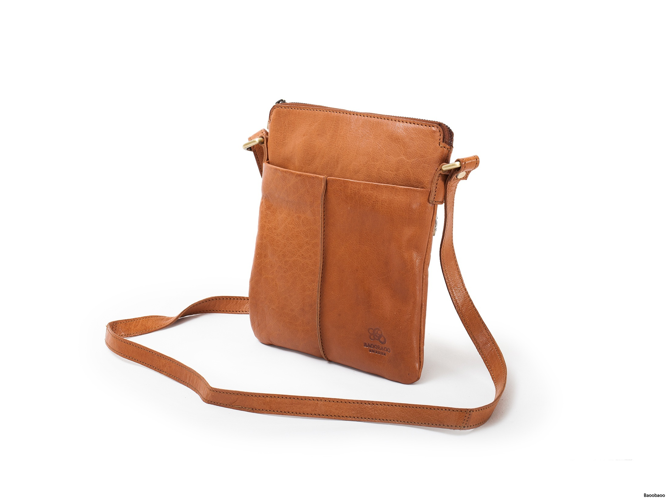 Shoulderbag Small Tan Front