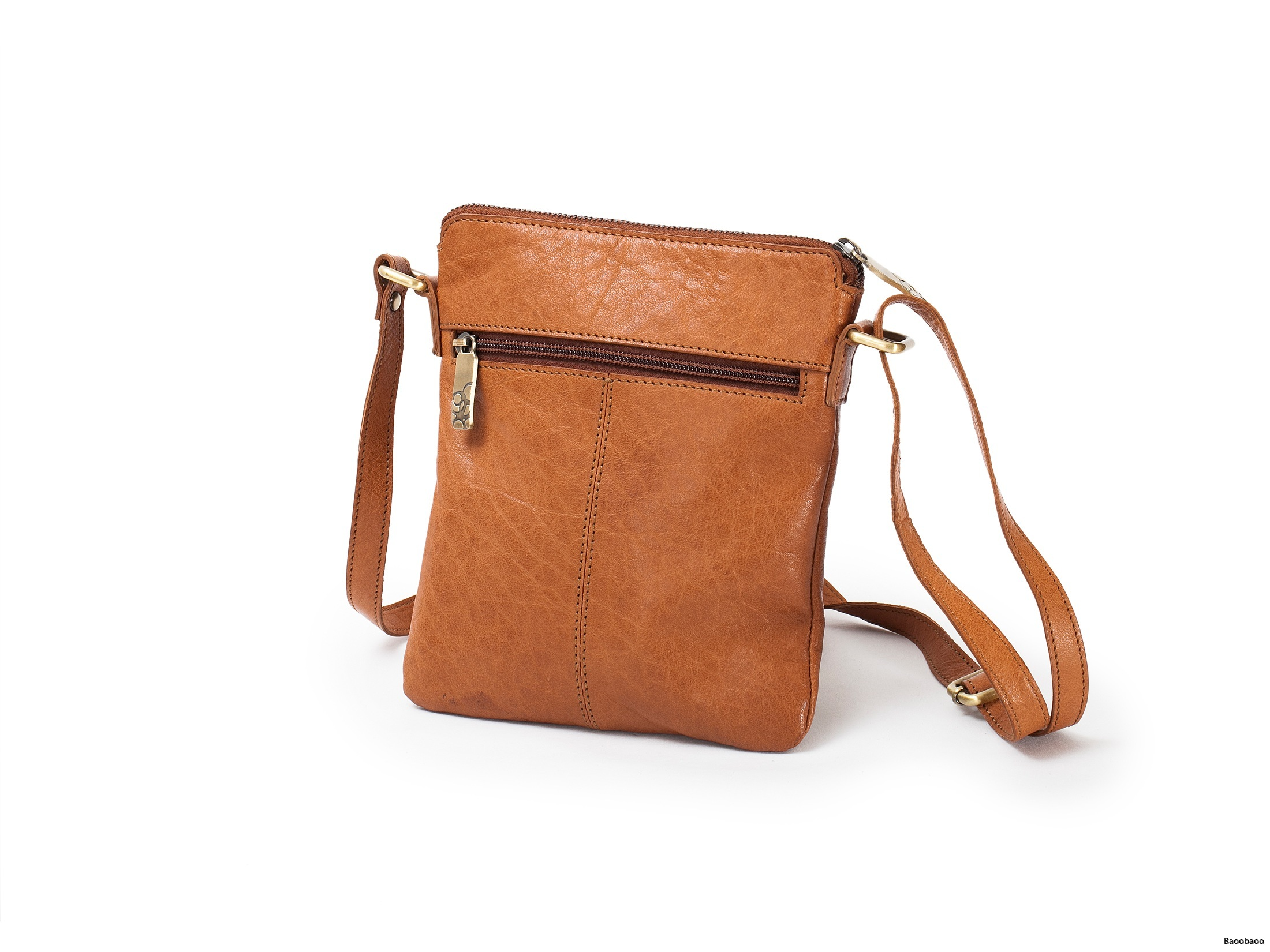 Shoulderbag Small Tan Back