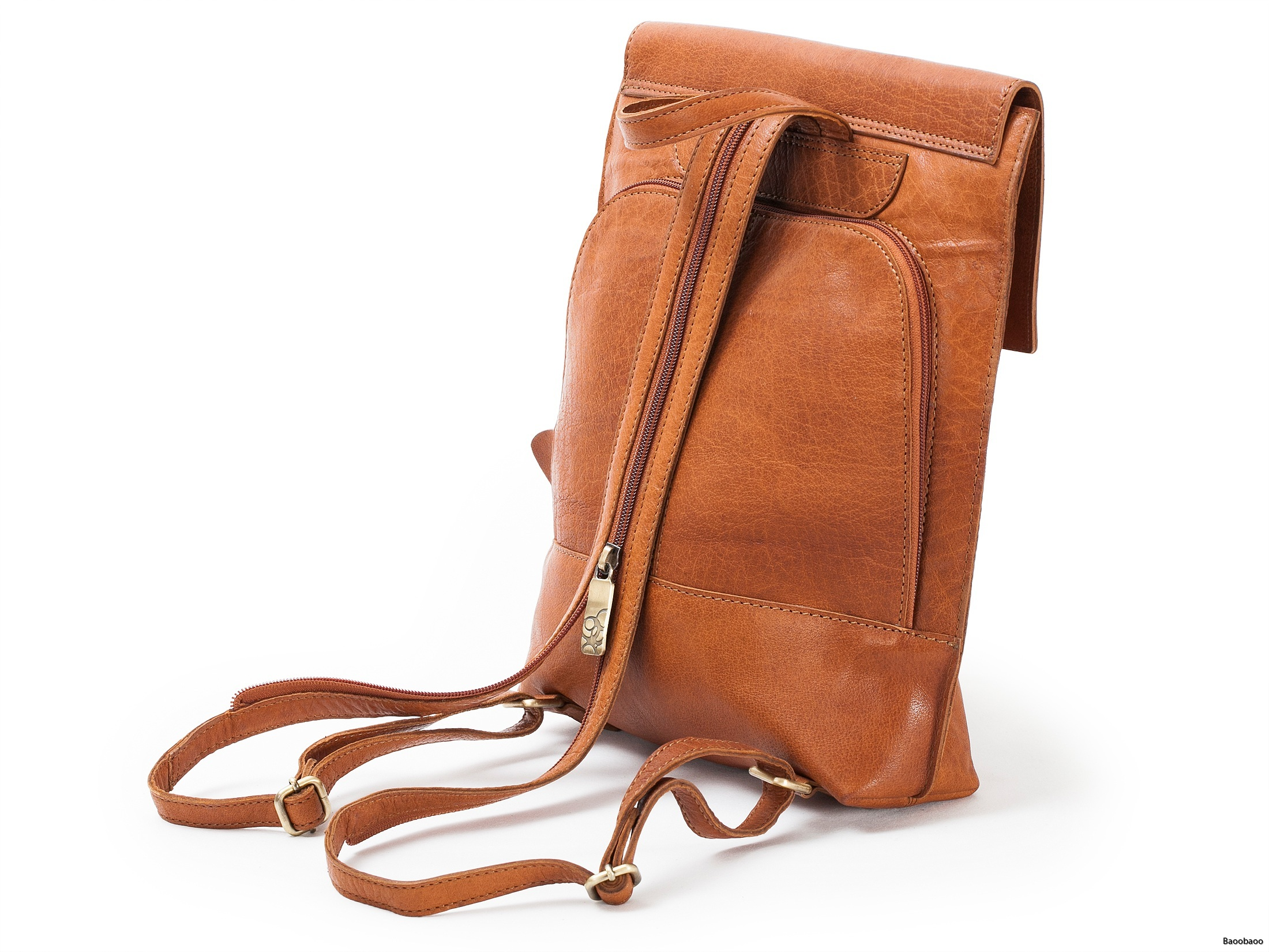 Safety Backpack Tan Back