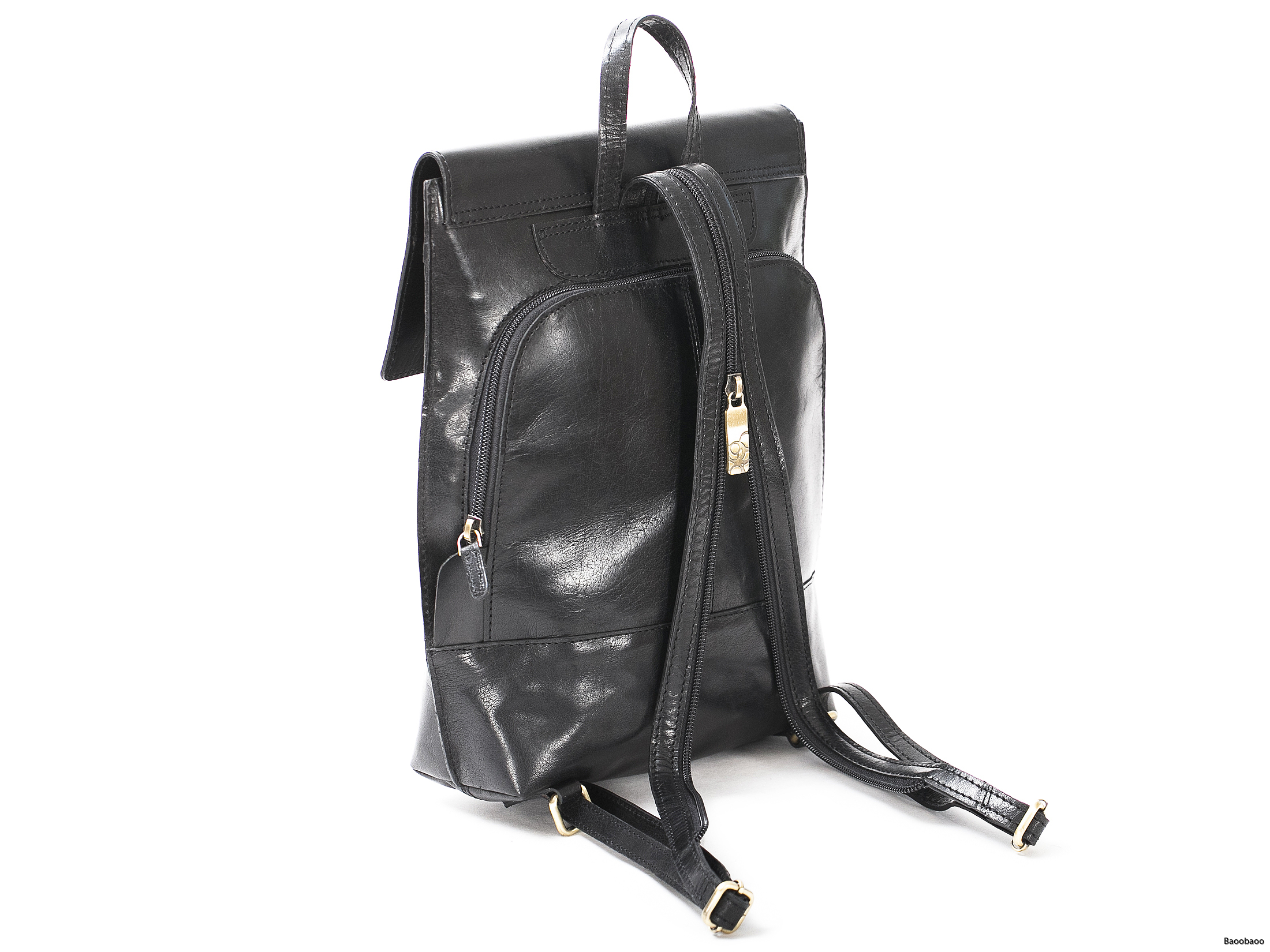 Safety Backpack Black Back