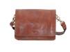 Baoobaoo Flap Handbag small. - Brandy