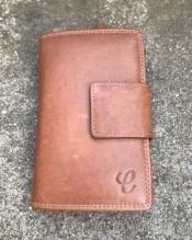 Plånbok med fack för 14 kort