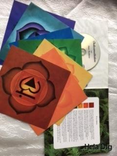 cd, bilder och folder