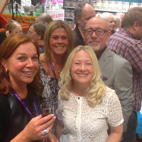 Mingel! Här med Camilla Davidsson, Varg Gyllander och... Christina!