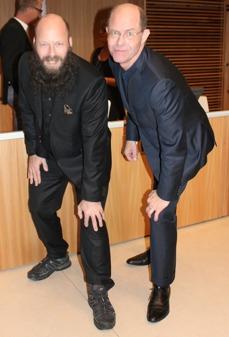 Leif Almberg och Paul Frankenius