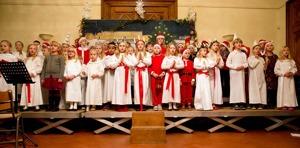 Luciafirande på Skandinaviska Skolan i Bryssel