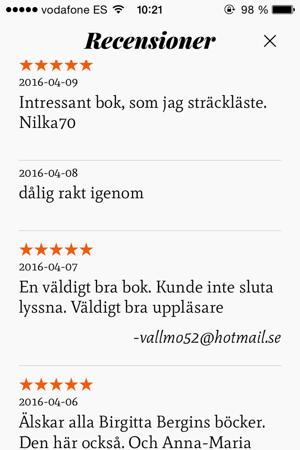 Hiss och diss. Fast mest hiss... :-)
