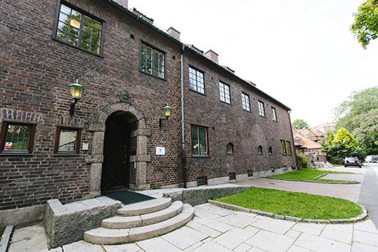 Ingrid Bergmans hus på Lyckans väg i Göteborg