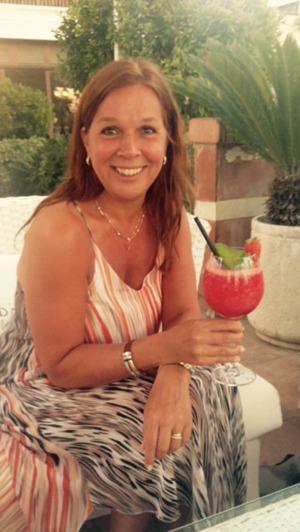 På Gran Guadalpin Banus där de serverar sagolikt goda strawberry daiquiris