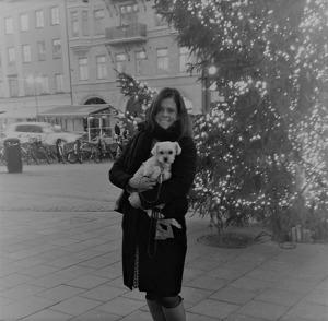 """Pepsi och jag i Stockholm när jag fick reda på att jag är """"en av de fem"""""""