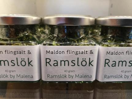 Maldon flingsalt & Ramslök