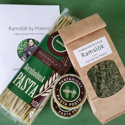 Ramslökspasta & Pasta pesto med Ramslök -