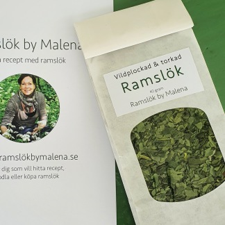 Vildplockad & Torkad Ramslök, ekologisk 40 gram - Vildplockad & Torkad Ramslök, ekologisk 40 gram