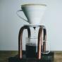 Droppställning för kaffe