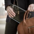 memobottle A5, brun handväska